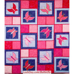 Butterfly Quilt As You Go Quilt Along