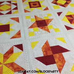 Machine Quilting Block Party