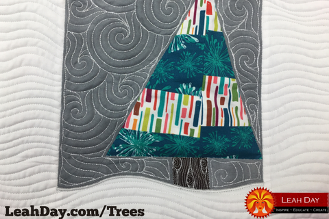 Wonky Christmas Tree Quilting Tutorial