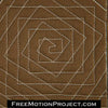 how to quilt spiral illusion