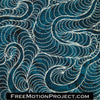 quilting design moon feathers