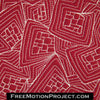 cube storm free motion quilting design