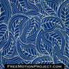 flowing leaves quilting design