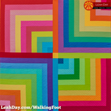 walking foot baby quilt jelly town