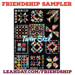 Friendship Quilt Along Block of the Month twin sized