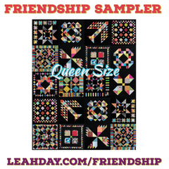 Friendship Quilt Along Block of the Month Queen sized