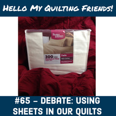 can you make quilts from bed sheets