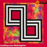 walking foot quilt infinity knot