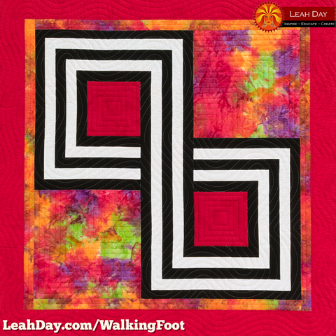 Infinity Knot Quilt | Walking Foot Quilting