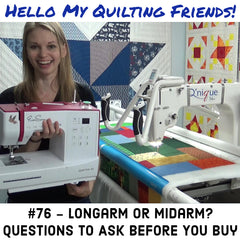 longarm verses midarm buying guide