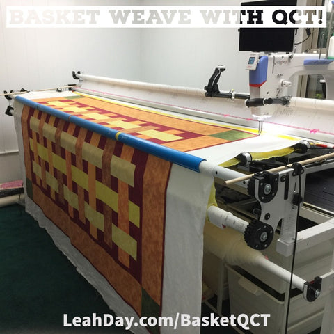 Basket Weave with QCT Quitl Along