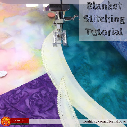 Blanket Stitching Applique Tutorial