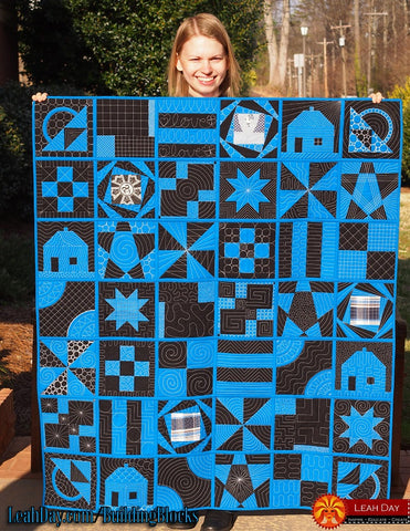 Building Blocks Beginner Quilt Pattern