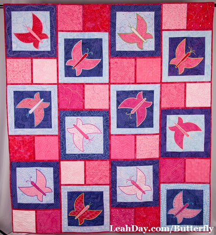 Dancing Butterfly Quilt Pattern