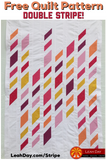 Double Stripe Diamond Quilt Pattern