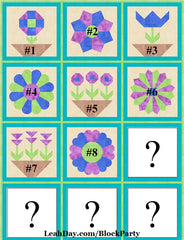Flower Festival Sampler Block Party