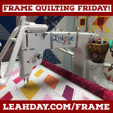 Longarm Quilting Frame Friday