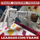 Frame Quilting with Leah Day