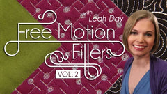 Craftsy class Free Motion Fillers