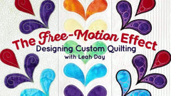 Free Motion Quilting Effect Class