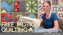 Craftsy Class Free Motion Quilting a Sampler