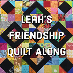 Leah Day Friendship Quilt Along