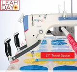 How to baste on a longarm