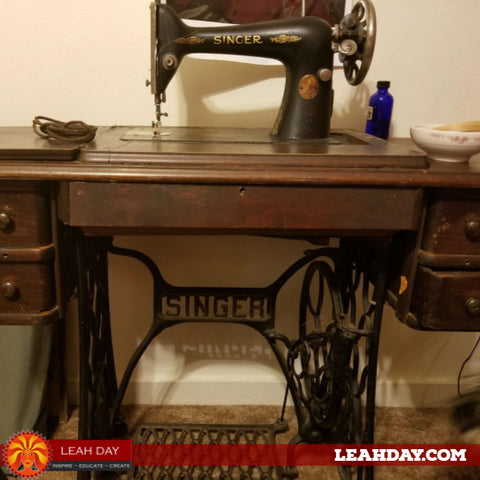 Grandmas treadle machine