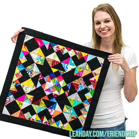 Hourglass Square Patchwork Tutorial