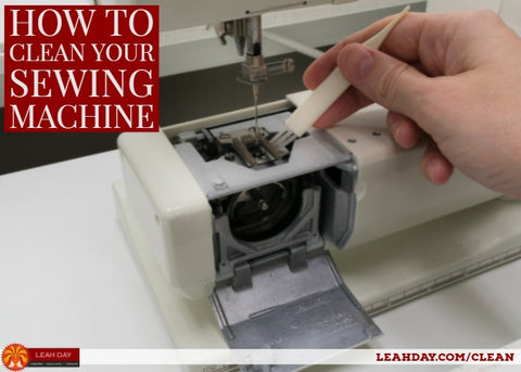 How to Clean and Oil Your Machine LeahDay Best How To Oil A Sewing Machine