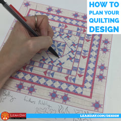 how to plan your quilting design
