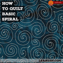 How to Quilt Basic Spiral