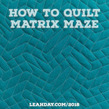 Matrix Maze quilting tutorial