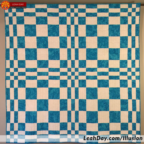 Illusion Mosaic Quilt Pattern