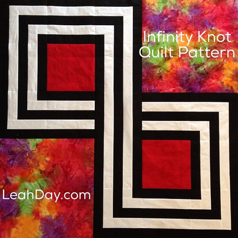 Infinity Knot Free Quilt Pattern