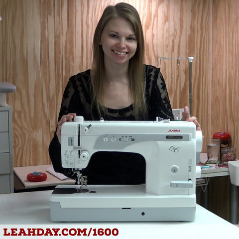Janome 1600 Leah Day