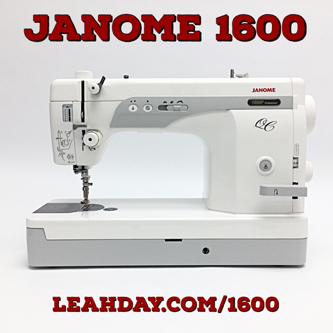 Janome 1600 Home Sewing Machine