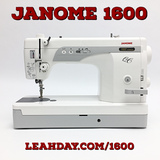 Janome 1600 Sewing Machine