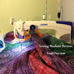 Sewing Machine Review: Juki 2200 Sit Down Longarm | LeahDay.com : long arm quilting machine reviews - Adamdwight.com