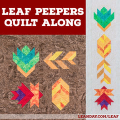 Leaf Peepers Quilt Along