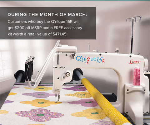 Grace Qnique 15 March Promotion