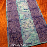 Ocean Flow Embroidered Table Runner