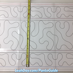 Pantograph Quilting Guidebook