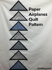 Paper Airplanes Easy Paper Pieced Quilt Pattern