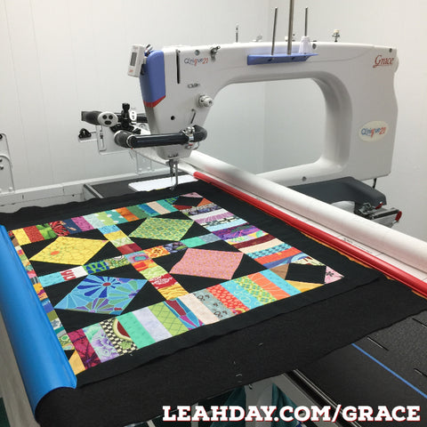 Qnique 21 Longarm Quilts Big Blocks