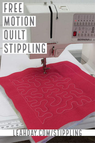graphic relating to Free Printable Machine Quilting Designs identified as Master How in the direction of Absolutely free Action Quilt Stippling or Meandering