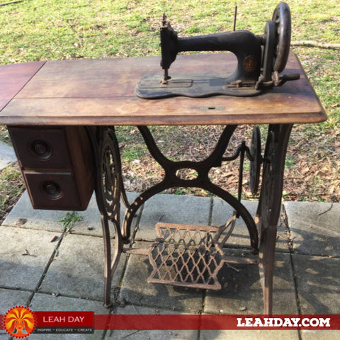 Singer 12 treadle machine