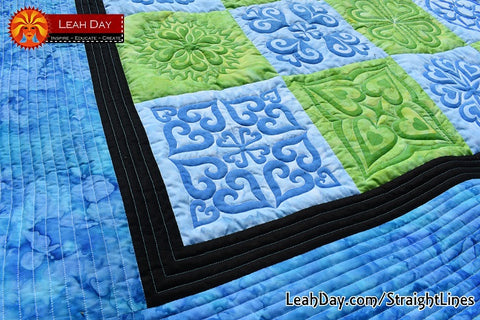 Quilting Straight Lines Tutorial