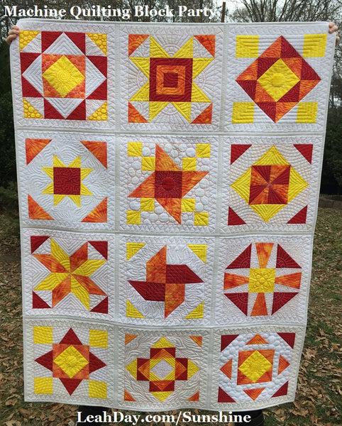 Sunshine Surprise Sampler Quilt