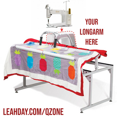 Q-Zone Hoop Frame for Sit Down Longarm Machines